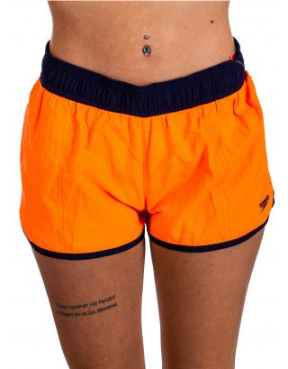 "SPEEDO - COSTUME SHORT COLOUR MIX 10"" - ORANGE/BLACK - 10-383-A656"