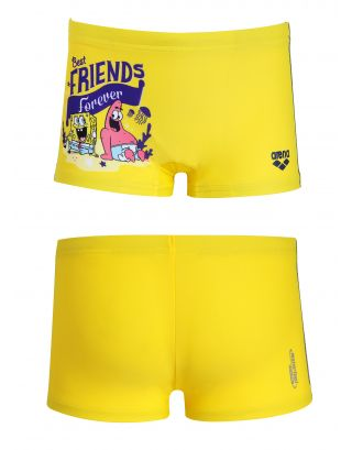 ARENA - COSTUME SHORT JR - SPONGE FRIENDS- 1A89335 - YELLOW - WATERFEEL X-LIFE