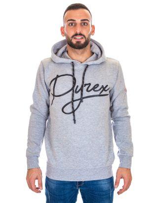 PYREX - FELPA CAPPUCCIO UOMO - 19IPB40360 - MELANGE GREY