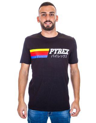 PYREX - T-SHIRT UOMO - 19IPB40366 - BLACK
