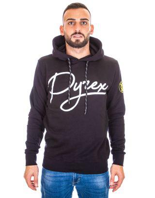 PYREX - FELPA CAPPUCCIO UOMO - 19IPB40360 - BLACK