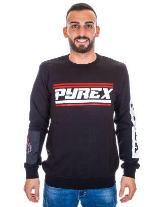 PYREX - FELPA UOMO - 19IPB40368 - BLACK