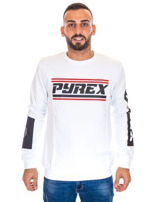 PYREX - FELPA UOMO - 19IPB40368 - WHITE