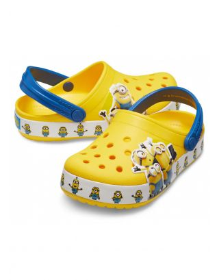 CROCS - SABOT JR UNISEX - MINIONS MULTI - 205512-730 - YELLOW