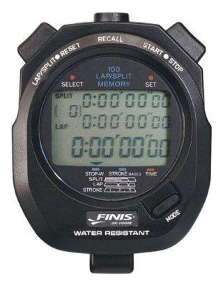 FINIS - 3X100 STOPWATCH - 100 MEMORIE - 1.30.032 - BLACK