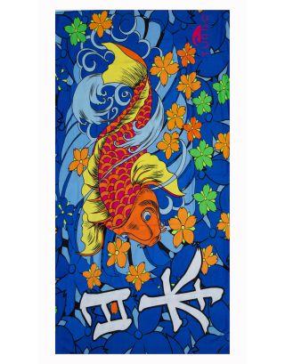 TURBO - TELO MARE - MICROFIBRA - JAPAN VIBES - 125x75cm - 987621/0006