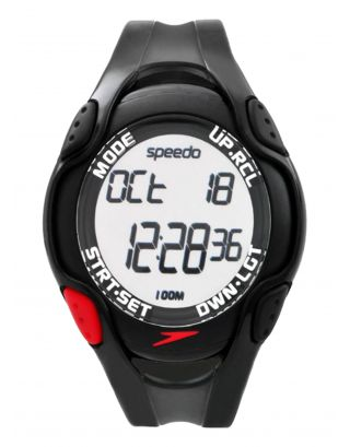 SPEEDO - AQUACOACH - ISD55176 - BLACK/RED
