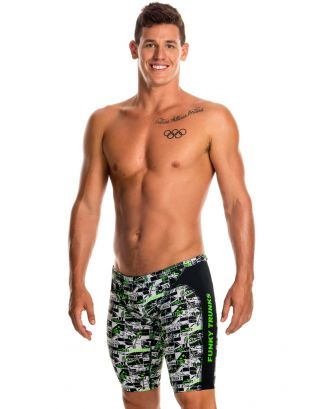 FUNKY TRUNKS - COSTUME JAMMER - FT37M01532 - STREESCAPE - TRAINING JAM
