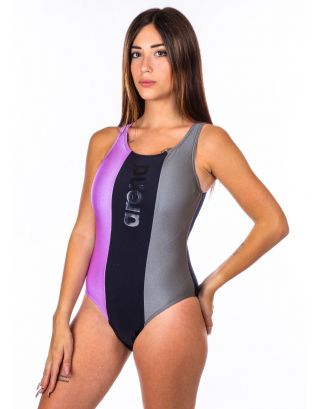 ARENA - COSTUME INTERO - JUST O BACK - 003533559 - SHARK/BLACK/PROVENZA - MAXLIFE