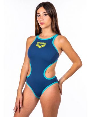 ARENA - COSTUME INTERO - ONE BIG LOGO - 001198570 - SHARK/MINT - MAXLIFE