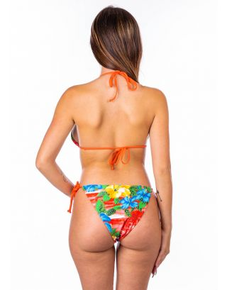 SUNDEK - COSTUME BIKINI WOMAN - W101KNLY2HA-034 - TIGER LILY - JENNIFER