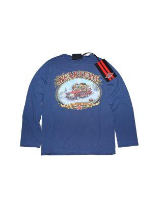 BEAR - T-SHIRT BOY JUNIOR HHL007-661 - ENSIGN BLUE