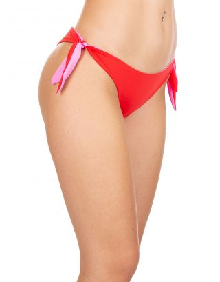 2BEKINI - SLIP BRASILIANA HEART - 7565-33 - RED