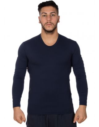 GUESS - T-SHIRT UNDERWEAR - 39347 - BLUE NAVY