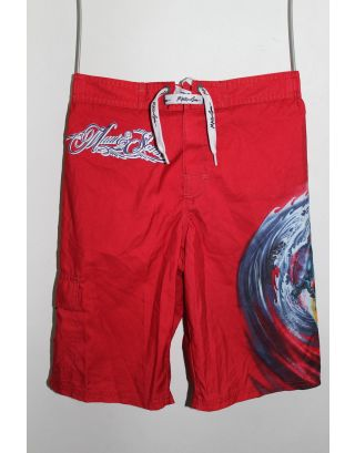 MAUI AND SONS - COSTUME BERMUDA JUNIOR - ROSSO - P1 K 2210-1015-417