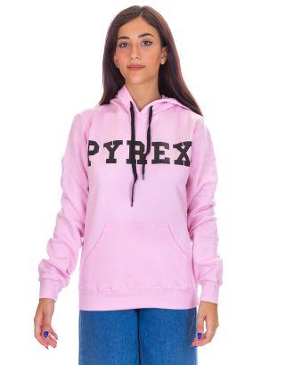 PYREX - FELPA CAPPUCCIO DONNA - 19IPB34227 - PINK