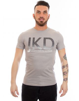 JAKED - T-SHIRT S/S JUNIOR - PIXEL - JSMAJ99001 - GREY/BLACK