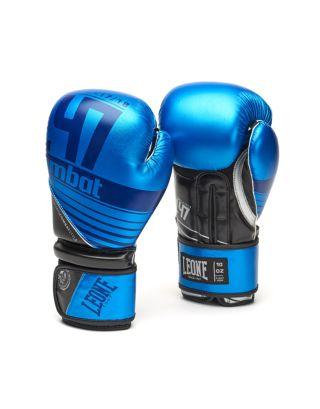 LEONE - GUANTONI BOXE L47 - GN067 - BLUE