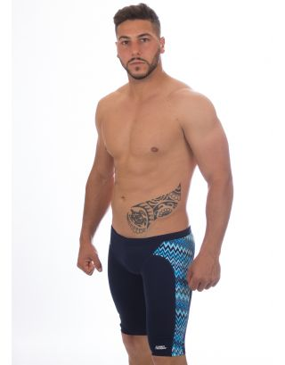 FUNKY TRUNKS - COSTUME JAMMER - FT37M01507 - STATIC BLUR - TRAINING JAM