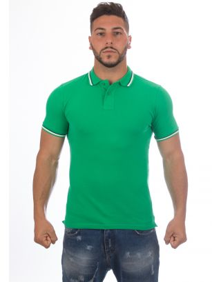 SUNDEK - POLO BRICE - M779PLJ6500-462 - BRIGHT GREEN