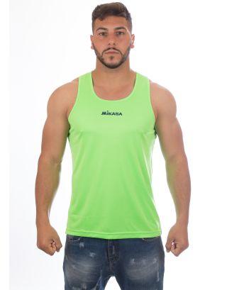 MIKASA - CANOTTA UNISEX PALMAS - MT5007 - FLUO GREEN