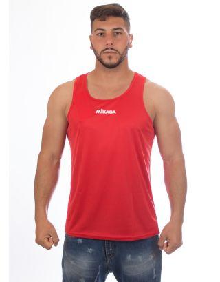 MIKASA - CANOTTA UNISEX PALMAS - MT5007 - RED