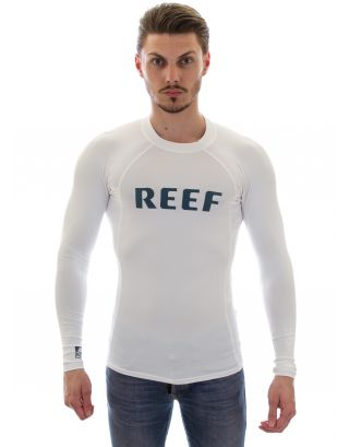 REEF - T-SHIRT LYCRA M/C - COMP RASHER - 00E106WHI - WHITE