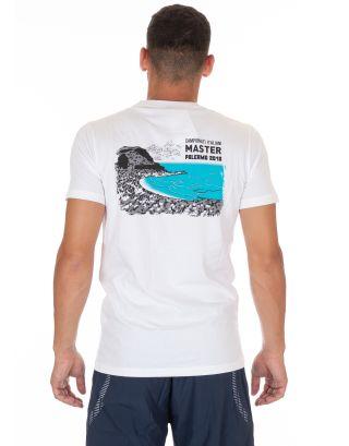 ARENA - T-SHIRT - S/S MASTER PALERMO 2018 TEE - 002218100 - WHITE