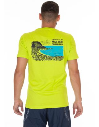 ARENA - T-SHIRT - S/S MASTER PALERMO 2018 TEE - 002218600 - LIME