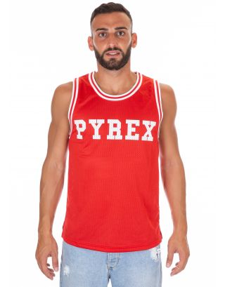PYREX - CANOTTA IN RETE UNISEX - 18EPY33301 - RED