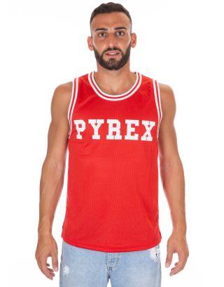 PYREX - CANOTTA IN RETE UNISEX - 18EPY33301 - RED