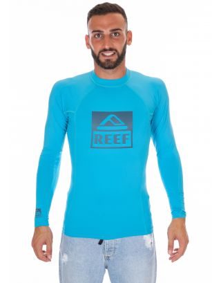 REEF - T-SHIRT LYCRA L/S - COMP RASHER II - RA35Y4TUR - TURQUOISE