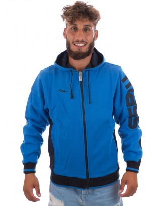 MASS - FELPA WINTER - SPORT LINE - BLUE