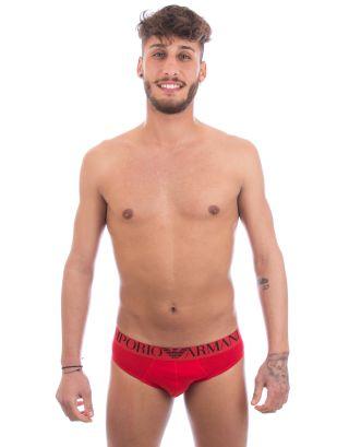 EMPORIO ARMANI - SLIP/BRIEF - 110814 6A595 00074 - RED