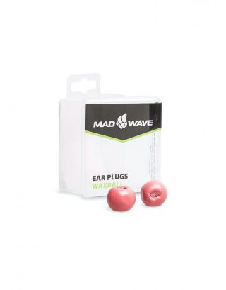 MAD WAVE - TAPPI ORECCHIE - EAR PLUGS WAXBALL - M071701005W - RED