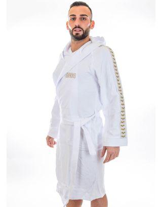 ARENA - ACCAPPATOIO SPUGNA ADULTO - ZEPPELIN+ - 003851100 - WHITE/GOLD