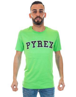 PYREX - T-SHIRT UNISEX - 19EPB40037 - GREEN