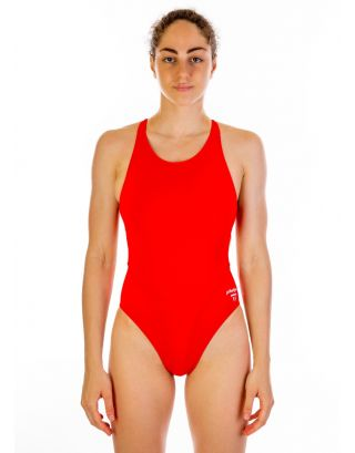 PHELPS - COSTUME INTERO - COMP BACK SOLID - SW4260606 - RED