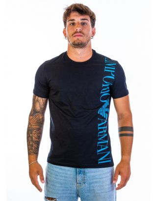 EMPORIO ARMANI - T-SHIRT - 211831 1P469 00020 - BLACK