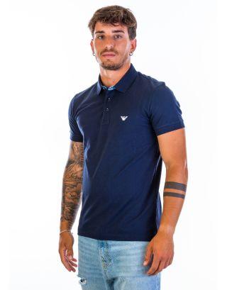 EMPORIO ARMANI - POLO S/SLEEVE - 211804 1P461 06935 - NAVY BLUE