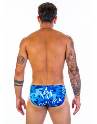 TURBO - COSTUME SLIP - OLYMPIA - 55551/0000 - CAMO BLUE