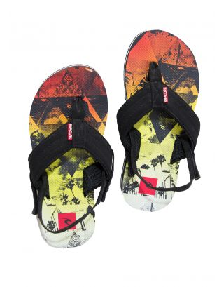RIP CURL - INFRADITO JUNIOR - RIPPER+ GROMS - TOTAK1-1873 BLACK/MULTI