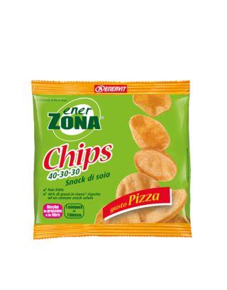 ENERZONA - CHIPS PIZZA - SNACK DI SOIA - 23g - 93496 - SCAD. 23/08/22