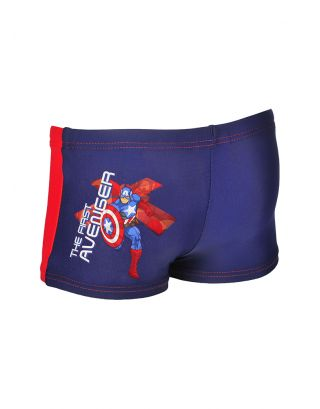 ARENA - COSTUME BOXER/TRUNK KIDS - CAPTAIN AMERICA MARVEL - 000250720 - LYCRA