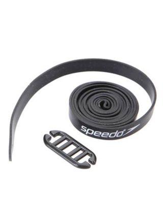SPEEDO - ELASTICI RICAMBIO 950x8 mm - STRAP BRANDING - 023030001 - NERO