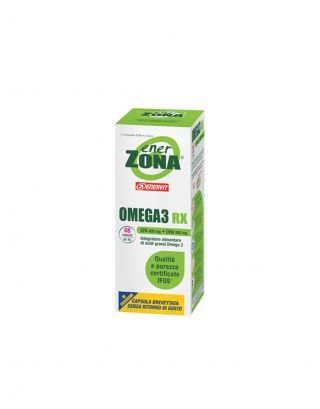 ENERZONA - OMEGA 3 RX - BLISTER DA 48 capsule da 1 g - 64g - SCAD. 27/02/23 - 92350