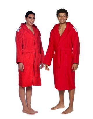 ARENA - ACCAPPATOIO SPUGNA UNISEX - CORE SOFT ROBE - 001756410 - RED/WHITE