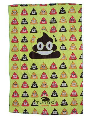 TURBO - TELO MARE - MICROFIBRA - POO HAPPY - 145x100cm - 9890388