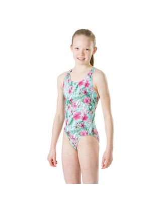 SPEEDO - COSTUME JR INTERO - DISNEY ARIEL - 07386D488 - GREEN/PINK - END+