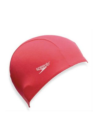 SPEEDO - CUFFIA POLYESTER CAP JUNIOR - 710110004 - RED